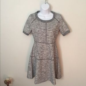 Athleta A-Line Dress En Route Heather Grey XXS